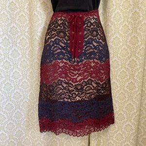 Moon River lace skirt